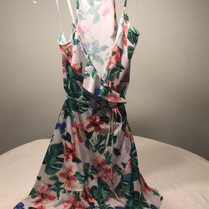 Mango basics floral dress size 6